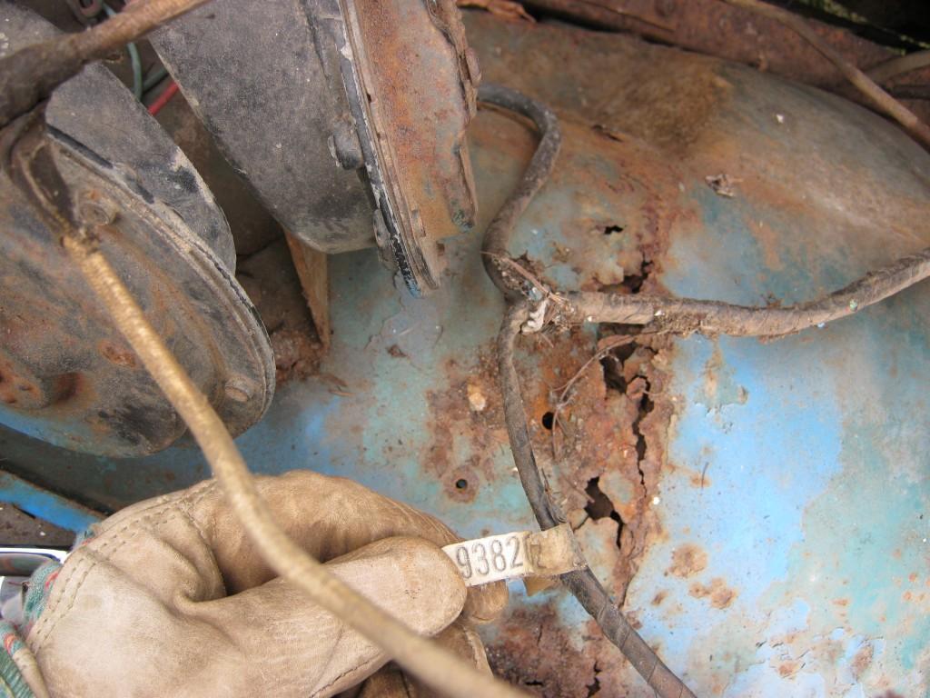 1966 CJ6 wiring harness code