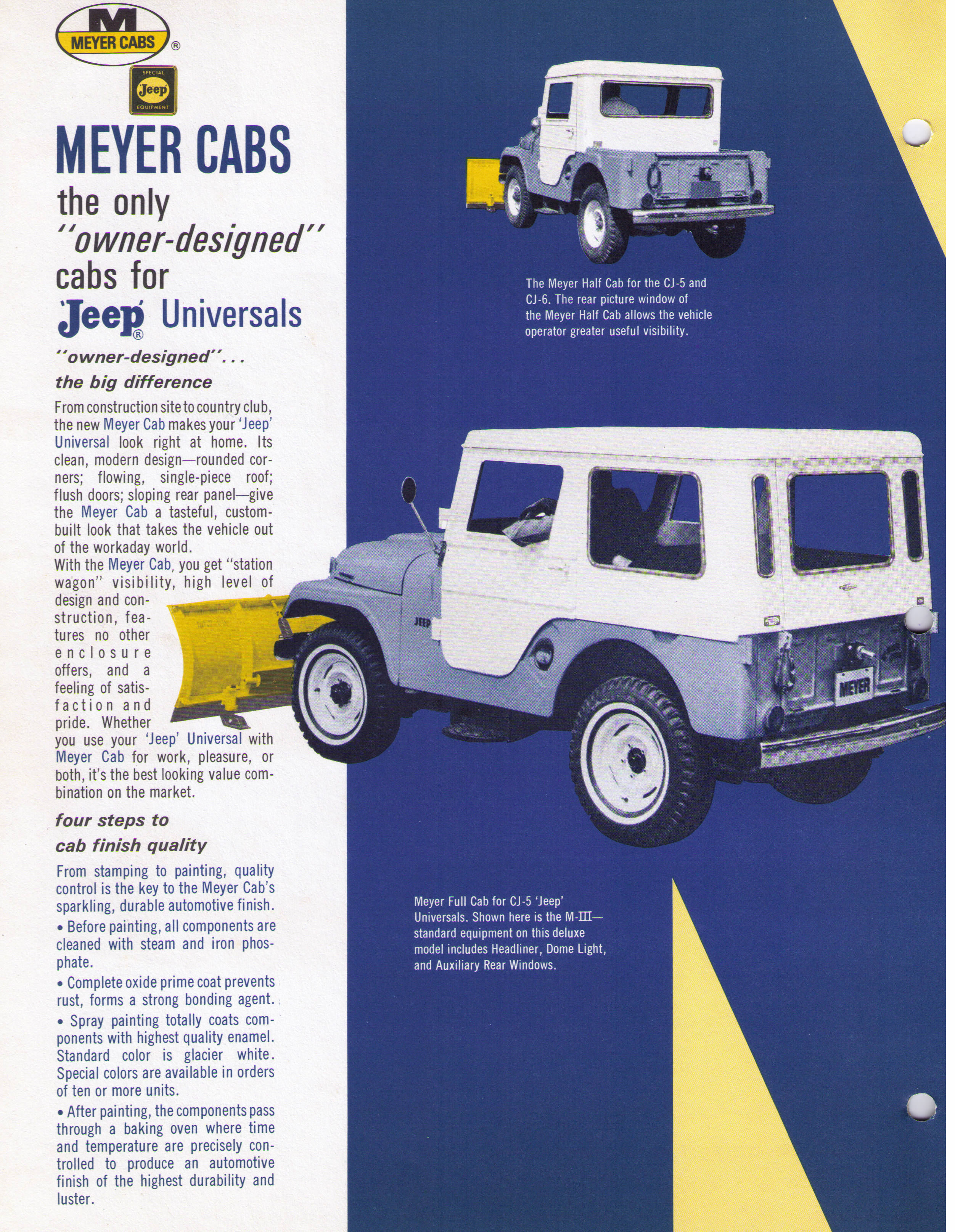 Meyer Full and Half cab late 60 - Jeep Willys World